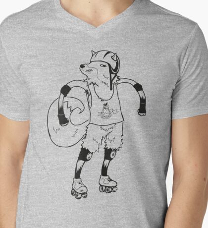 Derby Fox: Just the Outlines, Ma'am T-Shirt