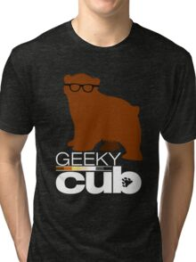 Geeky Cub Tri-blend T-Shirt