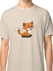 Happy Baby Fox Classic T-Shirt