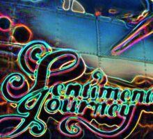 Neon Sentimental Journey Photo Print Sticker