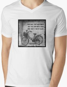 You Can't Buy Happiness Mens V-Neck T-Shirt