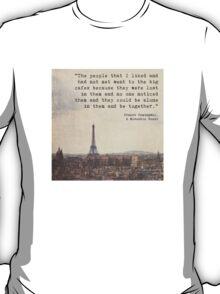 Hemingway in Paris T-Shirt