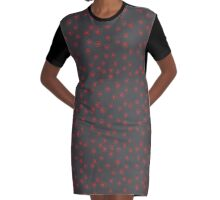 arrows (up, down, right, left) Graphic T-Shirt Dress