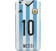 World Cup 2014 - Argentina Messi Shirt Style iPhone Case/Skin