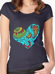 doodle Women's Fitted Scoop T-Shirt
