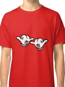 Mickey Hands Thumbs up Classic T-Shirt