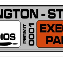 Harlington-Straker (S.H.A.D.O.) Parking Sticker Sticker