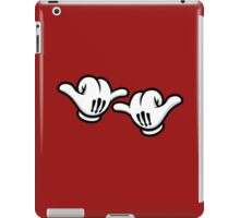 Mickey Hands Thumbs up iPad Case/Skin