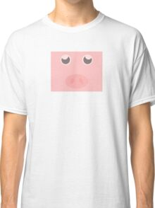 Look how cute this pig is Classic T-Shirt