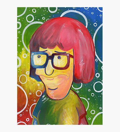 Tina Belcher OK Face Photographic Print