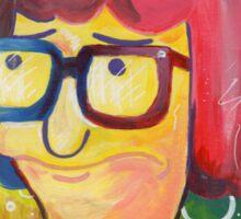 Tina Belcher OK Face Sticker