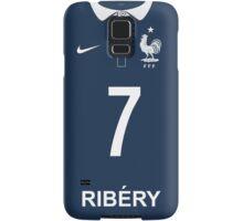 World Cup 2014 - France Ribery Shirt Style Samsung Galaxy Case/Skin