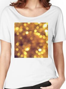 Abstract background with bokeh Women's Relaxed Fit T-Shirt