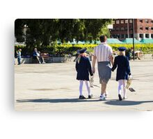 Paternity - People Photography Canvas Print