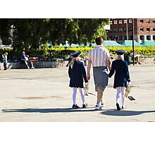 Back to School - People Photography Photographic Print