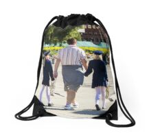 Paternity - People Photography Drawstring Bag
