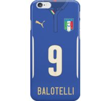 World Cup 2014 - Italy Balotelli Shirt Style iPhone Case/Skin