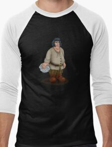 Fezzick Men's Baseball ¾ T-Shirt