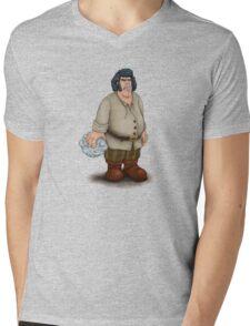 Fezzick Mens V-Neck T-Shirt