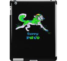 furry rave husky iPad Case/Skin