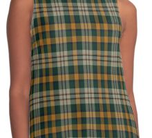 02588 Santa Barbara County, California Fashion Tartan Contrast Tank