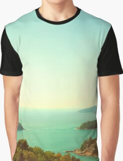 Ocean landscape Graphic T-Shirt