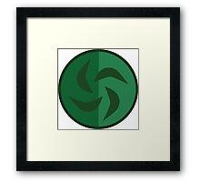 The Legend of Zelda: Ocarina of Time - Forest Medallion Framed Print