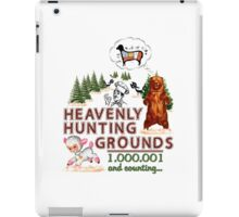 Heavenly hunting grounds iPad Case/Skin