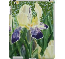 Gele Iris 2 iPad Case/Skin
