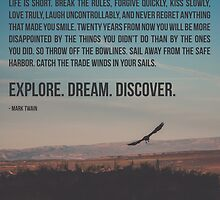 Explore Dream Discover by Maren Misner