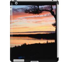 Winter Sunset on the Bras d'Or iPad Case/Skin