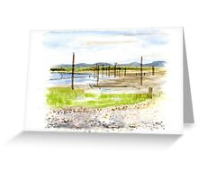 Warm Beach, Washington Greeting Card