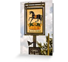Open all day Greeting Card
