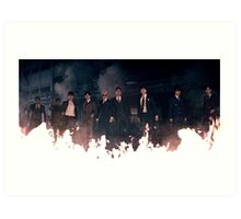 "Super Junior ""Devil"" Group 1 Art Print"