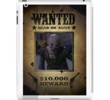Buffy Ubervamp Vampire Wanted iPad Case/Skin