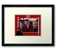 Buffy Graduation Willow Framed Print