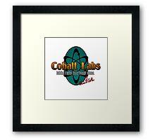 Logo - Cobalt Labs Framed Print