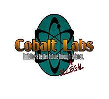 Logo - Cobalt Labs Photographic Print