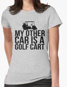 Car Golf Cart Womens Fitted T-Shirt