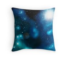 The Waves Of Tomorrow Nebula Throw Pillow