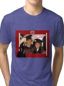 Buffy Graduation Xander and Cordelia Tri-blend T-Shirt