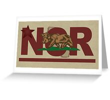 Fallout 2 NCR flag Greeting Card