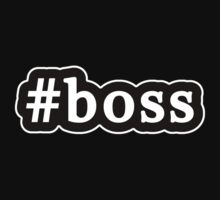 Boss - Hashtag - Black & White by graphix