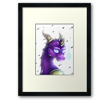 Spyro - Freezing Framed Print