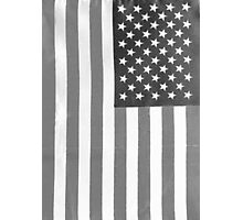 American Flag Verticle Photographic Print