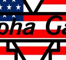 U of M Alpha Gam USA Sticker