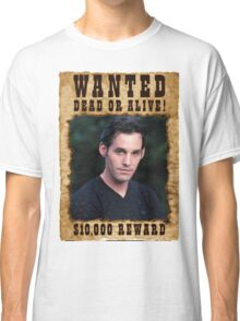 Buffy Xander Wanted Classic T-Shirt