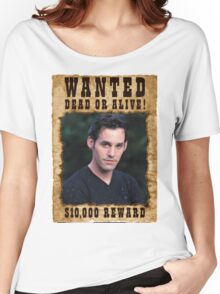 Buffy Xander Wanted Women's Relaxed Fit T-Shirt