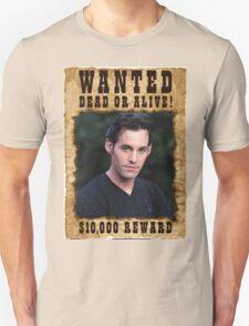 Buffy Xander Wanted Unisex T-Shirt