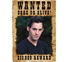 Buffy Xander Wanted Photographic Print